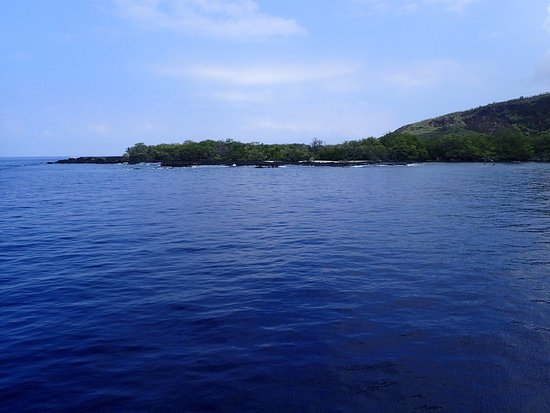 Fair Wind Big Island Ocean Guides : Approaching Kealakekua Bay
