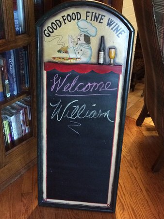 The Doctor's Inn: Everyone gets there name on the welcome board. A nice personal touch I thought.
