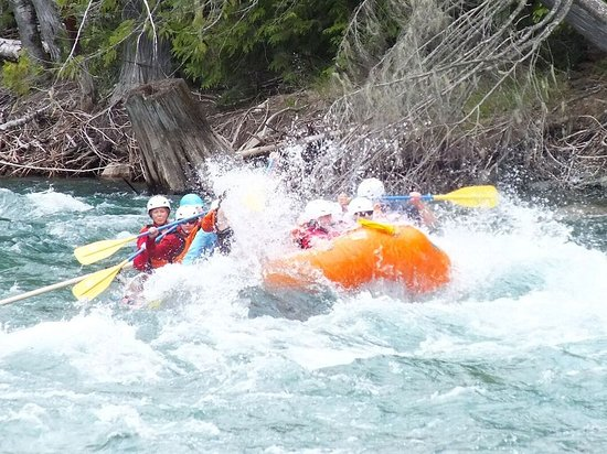 Kaslo, Kanada: Eveyone gets wet on this one