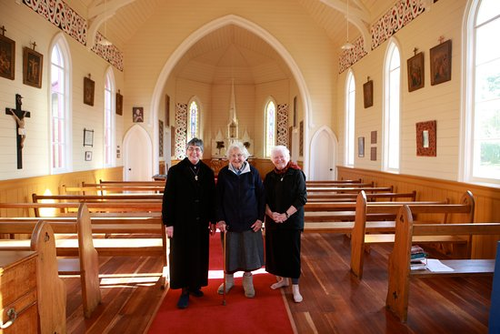 Sisters of Compassion inside St Joseph's Church