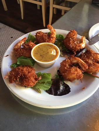 Coconut Shrimp, Bourbon Street Chicken and wall art decor. - Picture ...