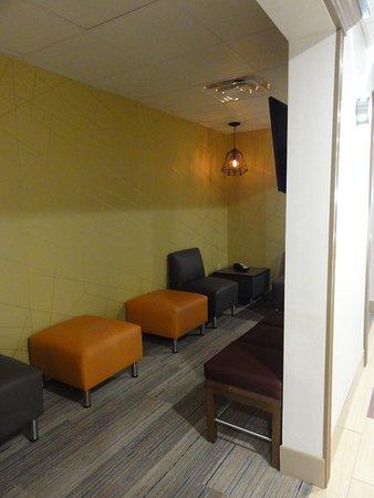 Clarion, PA: Narrow room alongside the first floor corridor