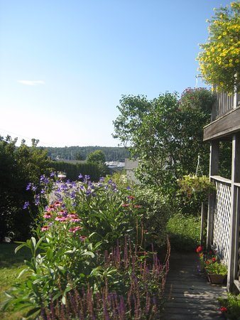 Cranberry Hill Inn: Beautiful view from the garden
