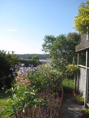 Cranberry Hill Inn : Beautiful view from the garden