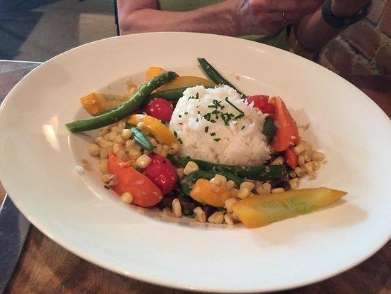 Patrona Restaurant and Lounge: Vegetarian plate