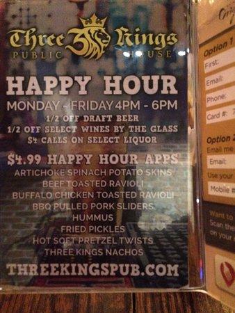 University City, MO: Happy Hour Menu