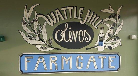 Latrobe, Австралия: Wattle Hill Olives Cafe