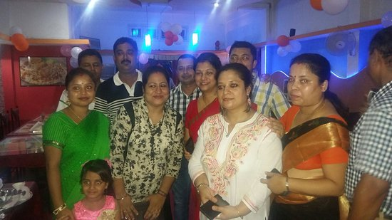 Jorhat, الهند: Prachi's b'day.....at Meridian Restaurant.