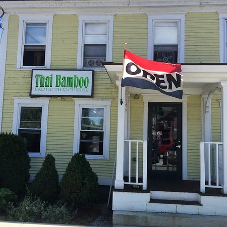 Thai Bamboo Exotic Thai Cuisine, Troy, NH.
