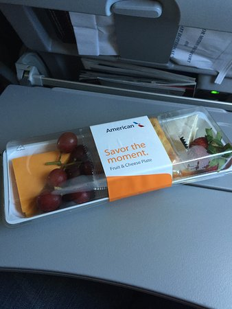 Fruit And Cheese Plate Picture Of American Airlines