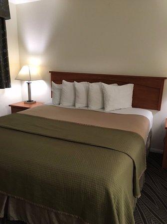 Howard Johnson Inn And Suites San Diego Area/Chula Vista: Bedroom is hot