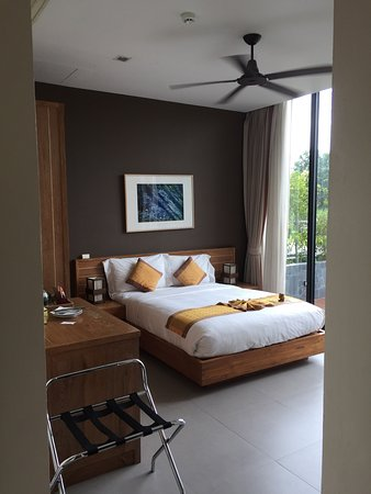 Zensala Riverpark Resort: Estas foto es desde la habitación 104. Con salida DIRECTA a la piscina! 😉