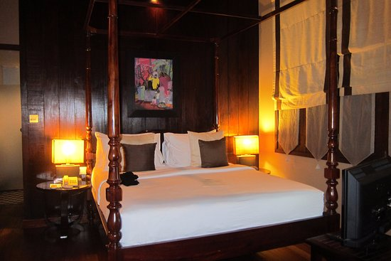 The SAMAR Villa & Spa Resort: Nice comfy bed