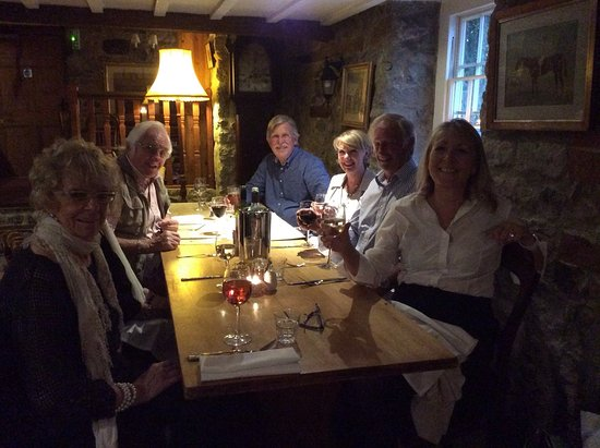 Bourton, UK: Great place to celebrate birthdays!