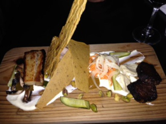 Anglers Dining : the smoked plate to share