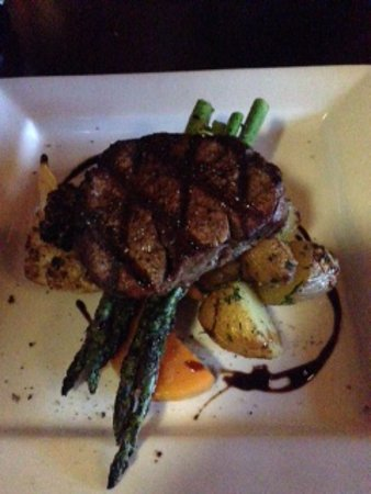 Anglers Dining : the steak