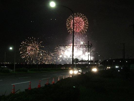 Makuhari Kaihin Park : 幕張の花火大会
