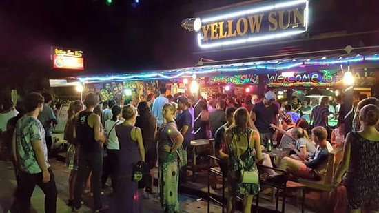 Yellow Sun Bar