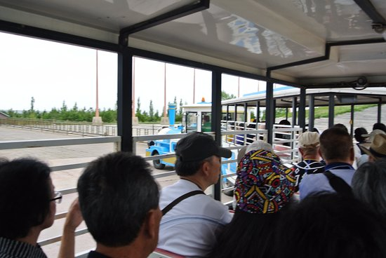Baotou, China: Free ride back to entrance