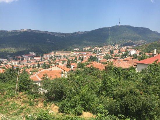 Belogradchik, Bułgaria: Vue de la terrasse