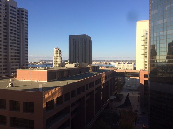 The Westin San Diego Gaslamp Quarter: The room views