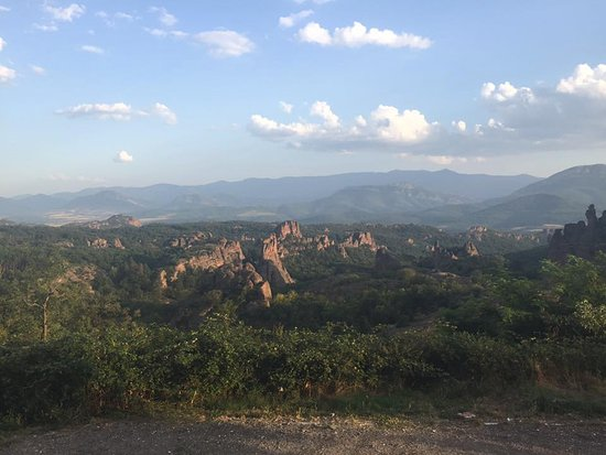 Belogradchik, Bulgaristan: Terrasse view