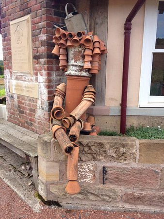 New Galloway, UK: Dumfries Garden Sculptures Aug 2016
