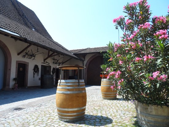 Gottenheim, Tyskland: Der schöne Innenhof