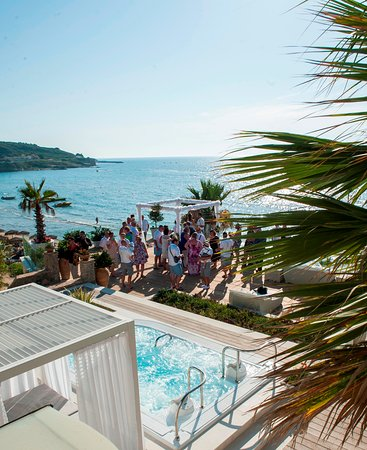 Delfino Blu Boutique Hotel: Wedding at the spa terrace