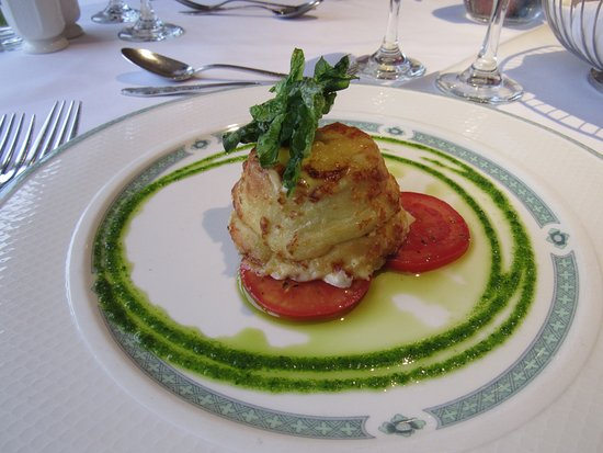 Chipping, UK: Twice baked cheese souffle