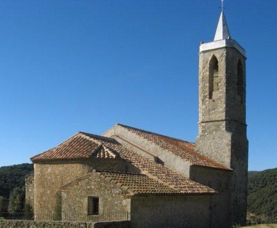 Esglesia de Sant Llop d'Hortsavinya: вид на храм