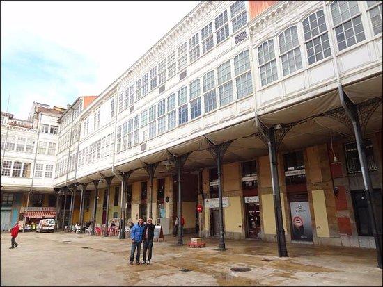 La Plaza. El Mercado de Aviles
