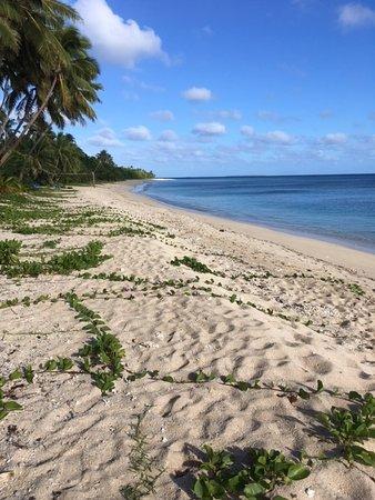 Uoleva Island, Tonga: Beach