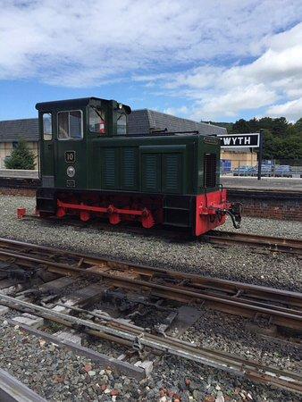 Aberystwyth, UK: Steam engine
