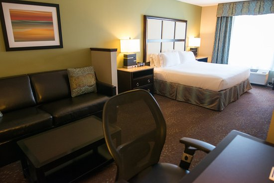 Albert Lea, MN: King Bed Leisure Suite With Sofa