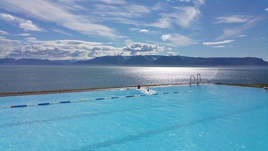 Thermal bath Hofsos, Iceland