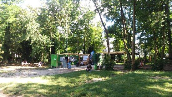 Sannois, فرنسا: Accueil du parc