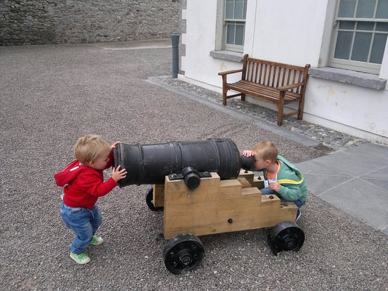 Dungarvan, Irland: Safety first