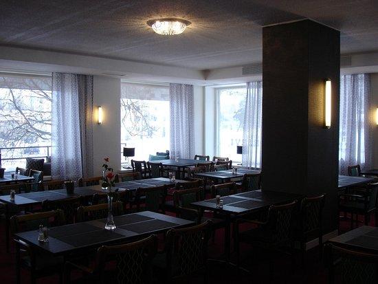Hotel Hirvi: Frühstücksraum