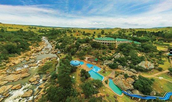Gooderson Natal Spa Hot Springs & Leisure Resort: Aerial View