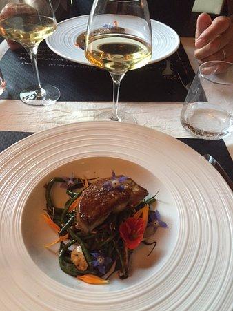 Auberge du Val de Vienne : fois gras en entrée : un délice