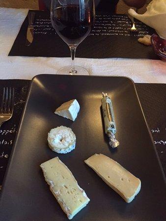 Auberge du Val de Vienne : fromage