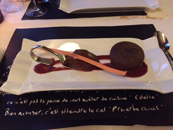 Auberge du Val de Vienne : dessert excellent