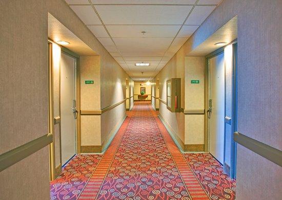 Holiday Inn San Diego-Bayside: Hallway