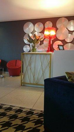 Eka Hotel Nairobi: Reseption area