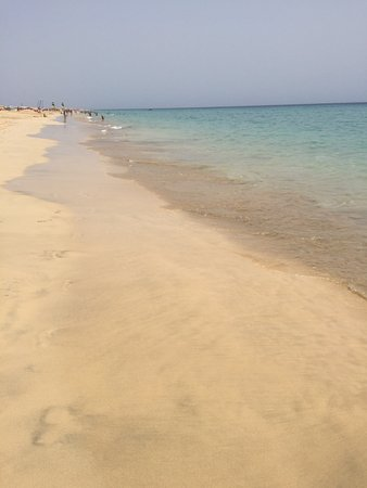 Hotel Riu Palace Jandia: Strand beim Hotel
