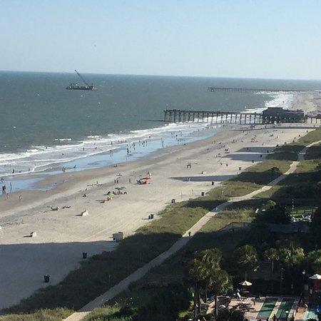 Schooner II Beach/Racquet Club : View from balcony