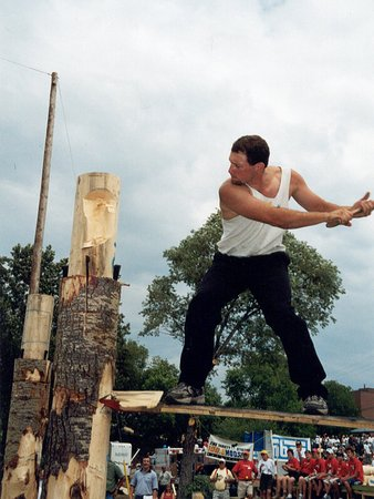 Kapuskasing, Καναδάς: Annual Lumberjack Festival