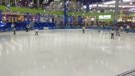 الظهران, المملكة العربية السعودية: صالة التزلج