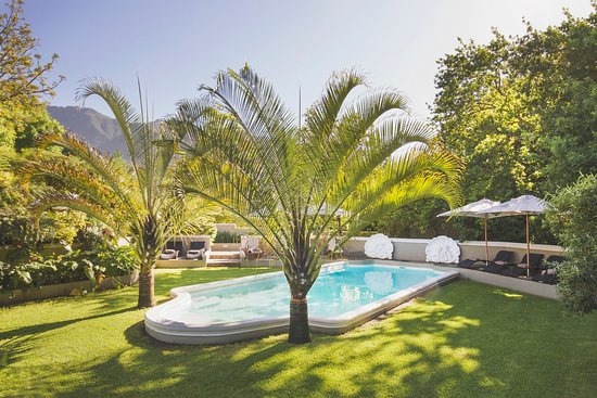 Schoone Oordt Country House: Lazy Summer Days at the Saltwater Pool